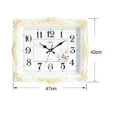 18 inch wall clock la crosse technology atomic outdoor large plastic kitchen quartz og white p