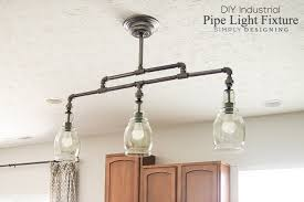 diy pipe lighting. diy pipe lighting
