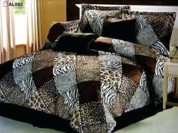 animal print duvet cover king size leopard by covers