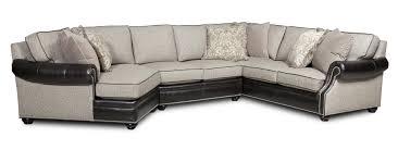 Bradington Young Warner Three Piece Sectional Sofa with LAF