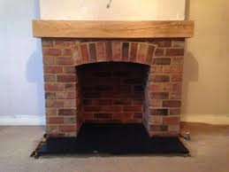 Mantel On Brick Fireplace Brick Fireplace With Oak Mantel Stuff To Buy Pinterest Oak