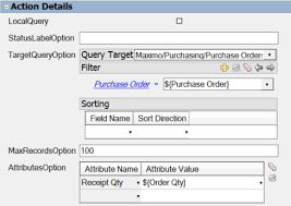 local purchasing order event actions datasplice 5 1 datasplice documentation