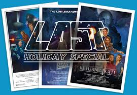 star wars lost in comics lost holiday special lost in star wars poster trilogy
