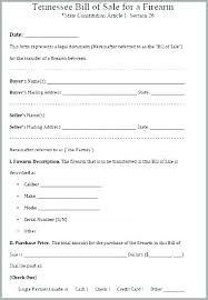 Firearms Bill Of Sale Florida Gun Bill Of Sale Free Sample Example Format Download Firearm