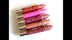new wet n wild megaslicks balm stains review swatches