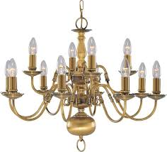 searchlight 1019 12ab flemish antique solid brass 12 light lamp chandelier