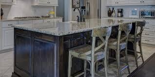 choosing a kitchen island or wrap around bar