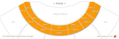 Zappos Theater Seating Chart Gwen Stefani Zappos Theater Vip Tables Seats Rateyourseats Com