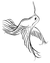 Small Picture Tribal Hummingbirds Flowers Coloring Pages Coloring Pages