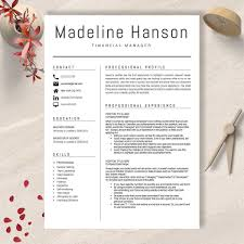 Resume And Cover Letter Template 2018