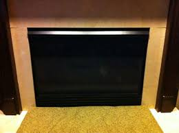cold draft gas fireplace complete