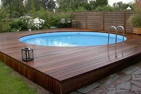 above ground pool decks freshome com
