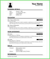 Resumes On Microsoft Word 2007 Resume Format Microsoft Word 2007 Download Resume Resume