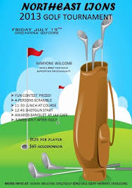 Golf Tournament Flyer Template Golf Scramble Flyer Template Shooters Journal