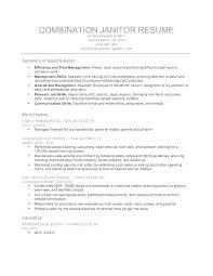 Sample Custodian Resume Resume For Custodian Download Sample Resume