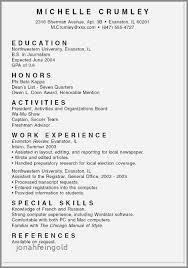 College Application Resume Examples For Highschool Seniors Beautiful