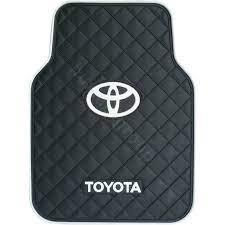 132 48 Toyota Logo Universal Automobile Carpet Car Floor Mat Rubber 5pcs Sets Black Car Floor Mats Toyota Logo Automobile