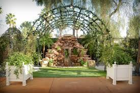 waterfall wedding venues beautiful las vegas outdoor