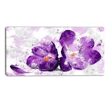 on purple orchid wall art with purple orchid floral canvas wall art print accent canvas