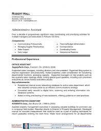 Property Manager Resume Sample Experienced Assistant For Job Resumes