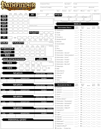 character sheet pathfinder pathfinder character sheet nefret 2 bcs 2 bp 1 furthermore cs p 1