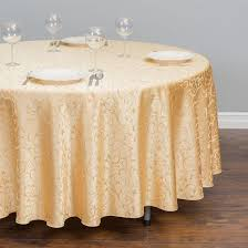 whole polyester 108 round table cloth jacquard table cover
