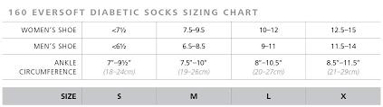 Sigvaris Eversoft Diabetic Sock 160 Calf High Compression Socks 8 15mmhg