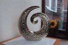 table ornaments. contemporary gold hammered swirl sculpture ornament window side table table ornaments