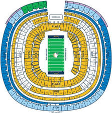 Chargers Stadium Seating Chart Chargers Stadium Seating Nfl Football Stadiums San Diego