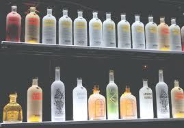 bar wall shelves for liquor