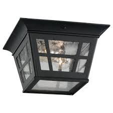 Black Front Porch Lights Outdoor Flush Mount Light Pogot Bietthunghiduong Co
