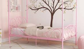 Biggerstaff Canopy Bed by Zoomie Kids Review – Furnitures Mania