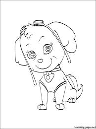 Skye Coloring Page Coloring Pages