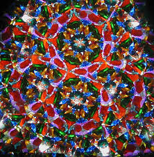 Seeing Kaleidoscope Patterns