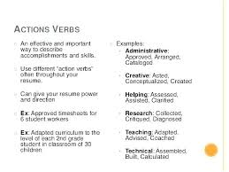 Resume Action Verbs Awesome Resume Action Verbs Examples Of Action Verbs For Resumes Good Action