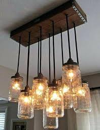 how to make a mason jar chandelier diy crafty projects primitive make your own multi pendant