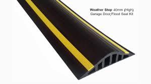 garage door gasketWeather Stop 40mm High Garage Door  Flood Barrier Seal Kit