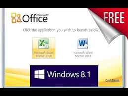 Free Windows 2010 Free Get Microsoft Office Starter Edition 2010 For Windows 10 8 1