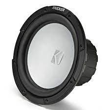 Kicker KMF 10´´ Subwoofer 4 Ohm Black buy and offers on Waveinn