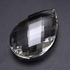 clear chandelier glass crystal lamp prisms part hanging drop pendants 38 50 63mm