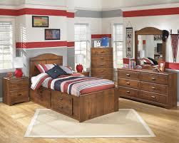 Bedroom Sets At Ashley Furniture Signature Design By Ashley Barchan Twin Bookcase Bed With Underbed