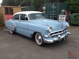 1954 CHEVROLET BEL AIR POWER GLIDE AUTO 4 DOOR SEDAN
