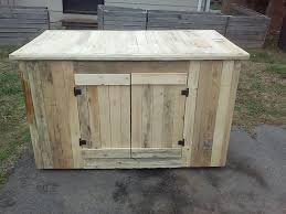 diy pallet sideboard or kitchen cabinet pallets homemade kitchen