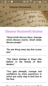 Eleanor Roosevelt Quotes For Android Apk Download