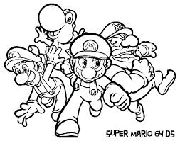 Mario Kart Coloring Pages To Print Mario Kart Coloring Pages Bowser