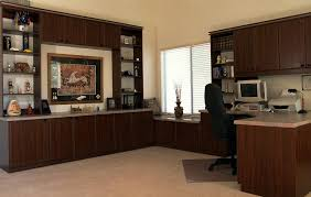 office wall desk. L Shaped Wall Unit With Computer Desk Chair Many Storage Cabinets Racks Office N