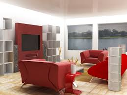 Red Living Rooms Color Schemes Living Room Ravishing Red Small Modern Living Room Interior