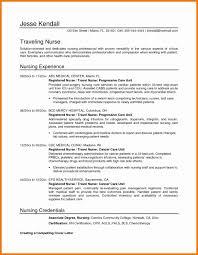 Resume Nursing Student Cover Letter Unique Template Sample