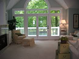 Window For Living Room Living Room Awesome Window Curtain Decorating Ideas With Blue