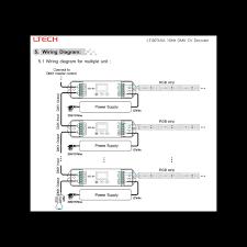 controller dmx digital xa lt a led controller dmx digital 3x6a lt 823 6a
